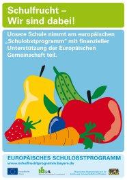 Schulfruchtprogramm, Logo