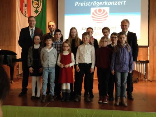 2015 Jugend musiziert Foto Preisträger aus MIL